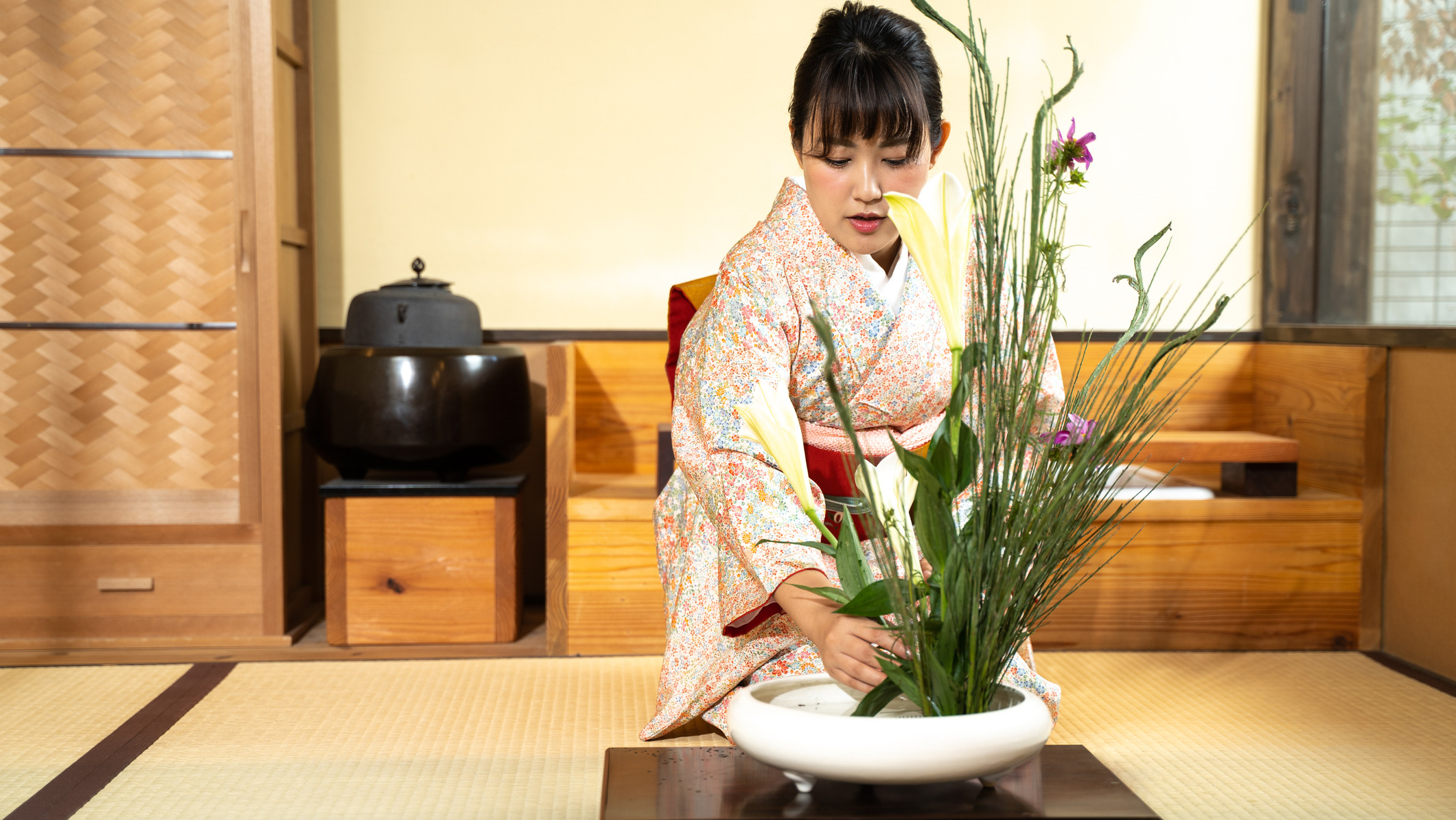 Dekorbild ikebana kurs